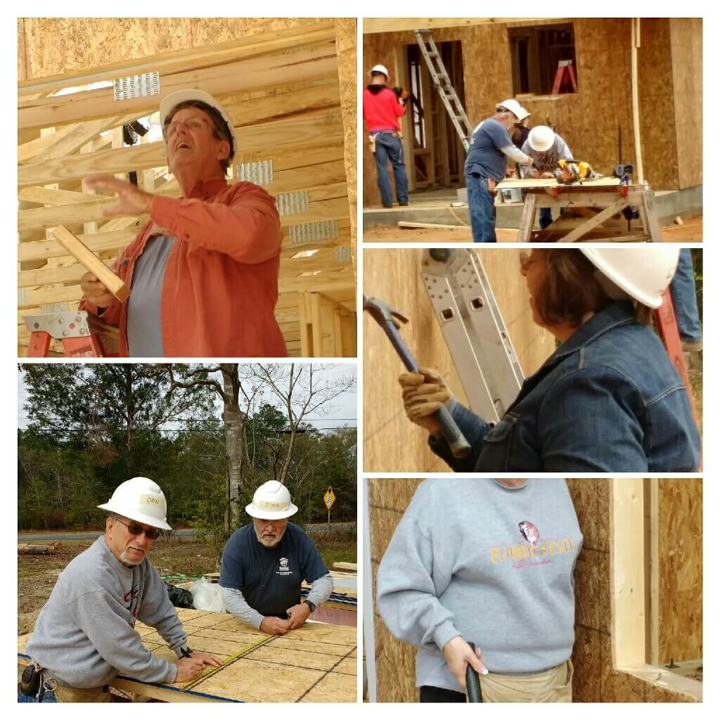 Missions at Pine Forest United Methodist Church help to build housing in our community