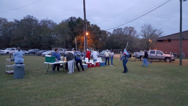 Movie night Missions at Pine Forest United Methodist Church